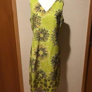 Dresses & Skirts - Piazza Sempione Green Sheath Dress, Size 8